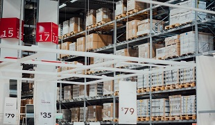 Warehousing process for foreign trade importers